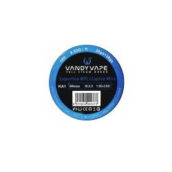 Vandy Vape Superfine MTL Fused Clapton Wire