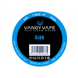 Vandy Vape Pure Nickel Ni80 24GA Wire