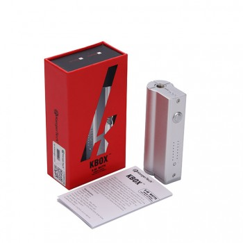 Kanger  KBOX 40W VW Variable Wattage Box Mod-Silver