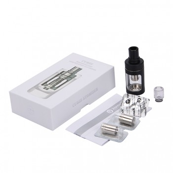 Joyetech  CUBIS Atomizer Kit 3.5ml Adjustable Airflow No Spilling Atomizer with Bottom Feeding Coil BF SS316/Clapton Head-Black