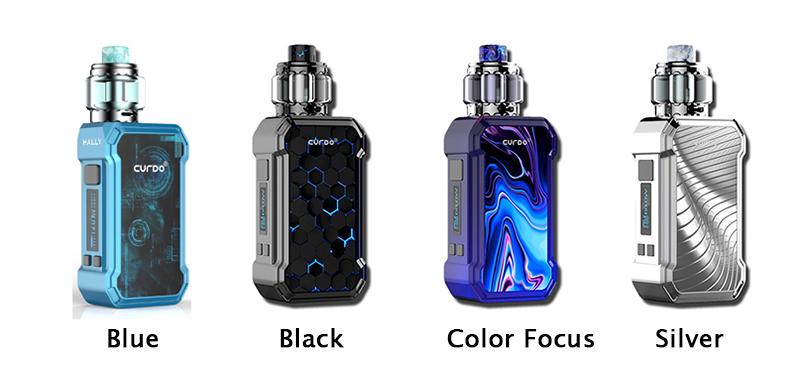 Curdo Hally TC Vape Kit Full Colors
