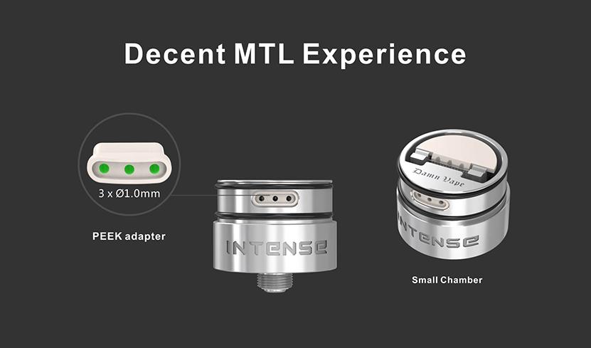 Intense Mesh MTL RDA MTL Experience