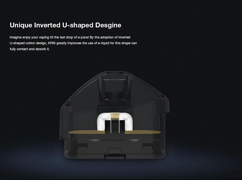 KRIS Pod System Kit Unique Inverted U-shaped Design