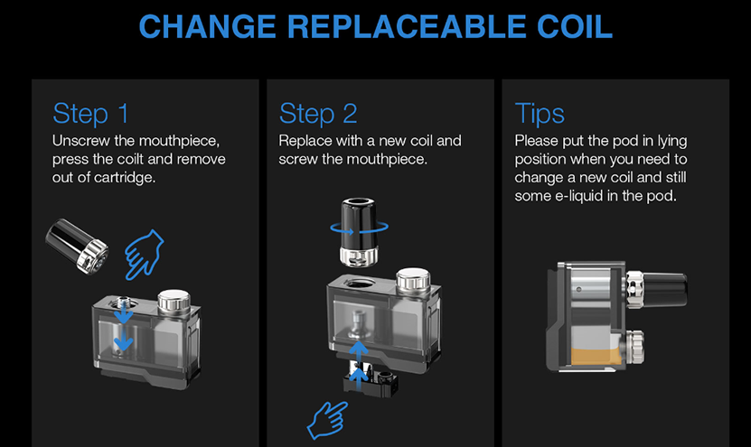 Orion Q-Pro Cartridge Coil Replacement