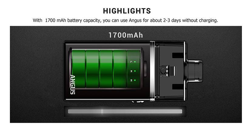 Nevoks Angus Mesh RDA Kit Battery