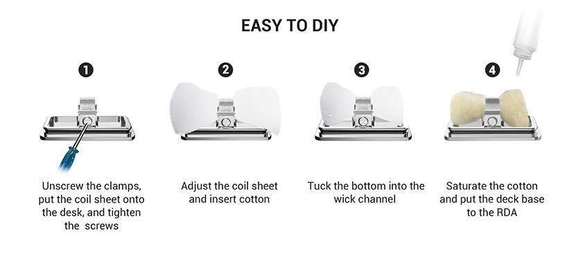 Angus RDA Kit DIY Coil