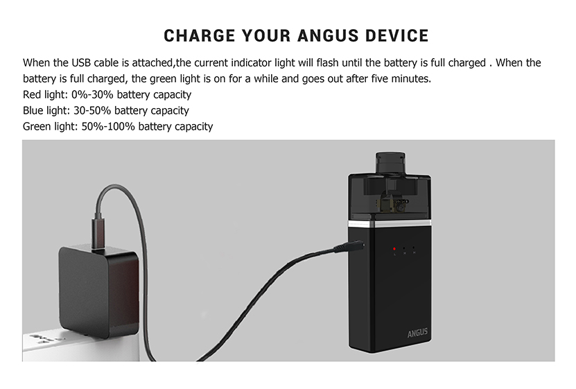 Nevoks Angus RDA Vape Kit Indicator