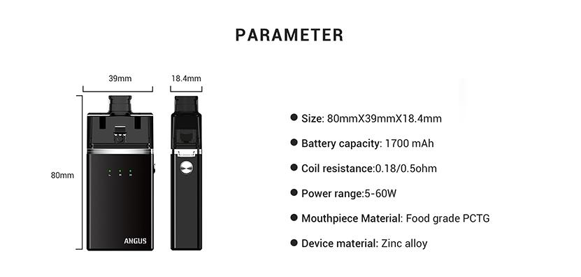 Angus RDA Starter Kit Parameter