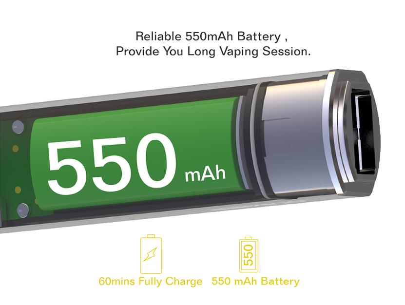 PLIP 2in1 Battery Capacity