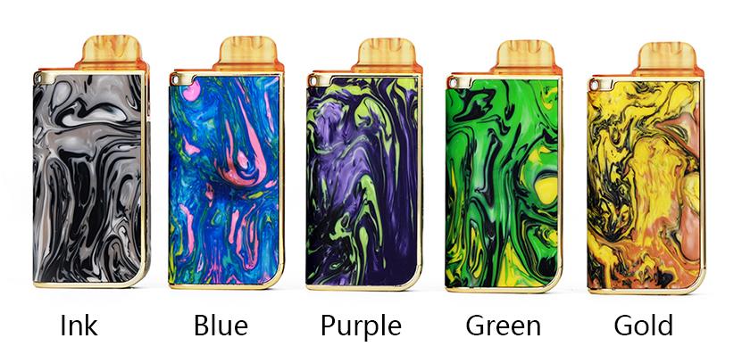 QUIZZ Nic Pod System Vape Kit Full Colors