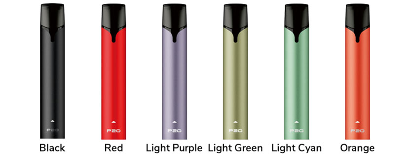 Tesla P20 Pod Kit Colors