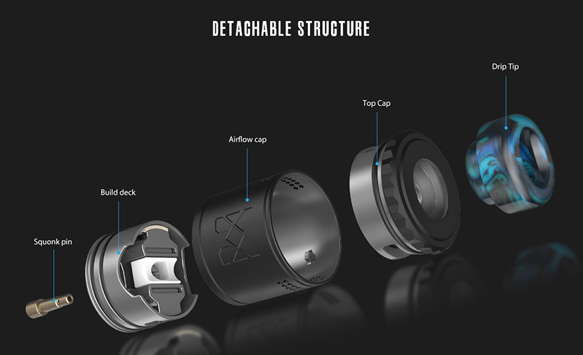 V2 RDA Atomizer Instructure