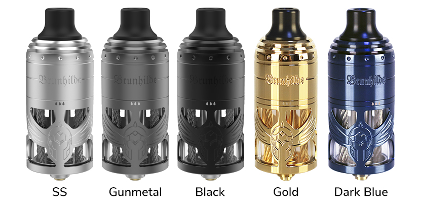 Vapefly Brunhilde MTL RTA Colors