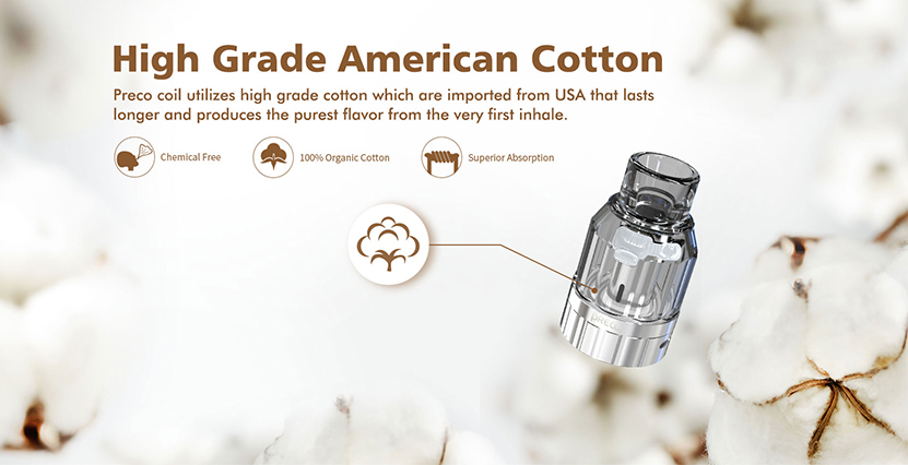 Preco2 DTL Tank Cotton