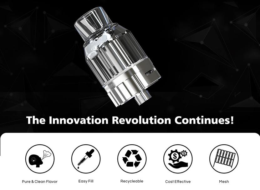 Preco 2 Dpod Sub Ohm Tank Innovation