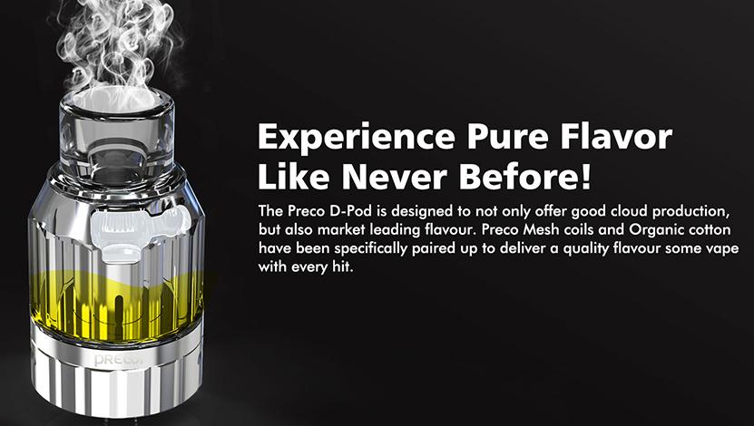 Preco2 DTL Tank Pure Flavor