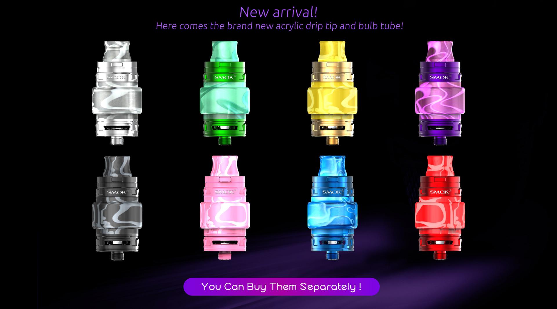Smok Tfv12 Baby Prince Tank With 4 5ml Capacity And Light