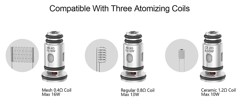 510Vape Spas-12 Pod System Kit coil