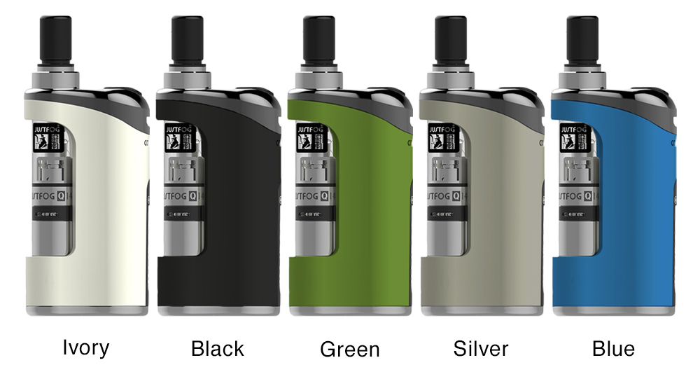 5colors for Justfog Compact 14 Kit