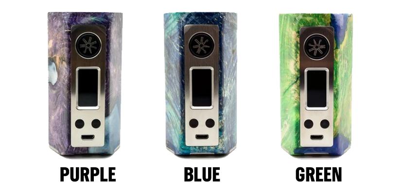 asMODus Minikin Kodama 21700 Vape Mod Full Colors