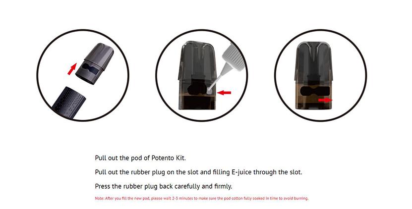 Potento Kit Filling