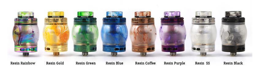 Advken Manta RTA Resin Version Colors