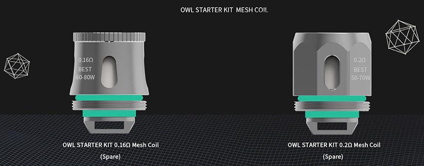 Advken OWL Kit Mesh Coil