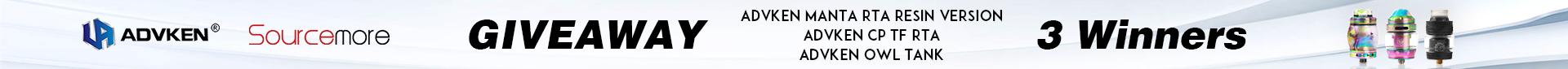 Advken & Sourcemore Giveaway