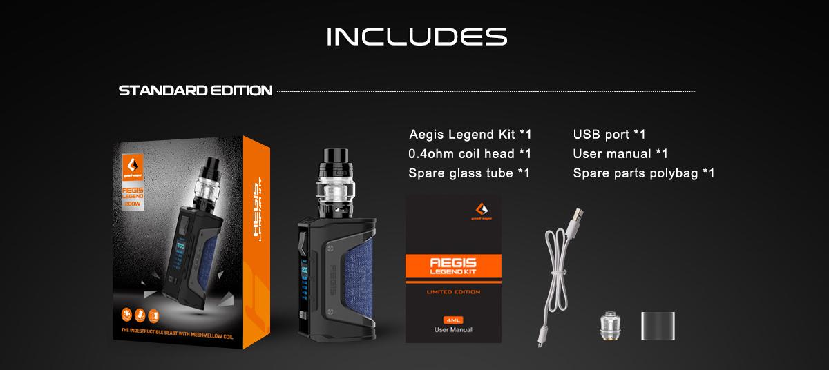 Aegis Legend Kit New Colors Includes