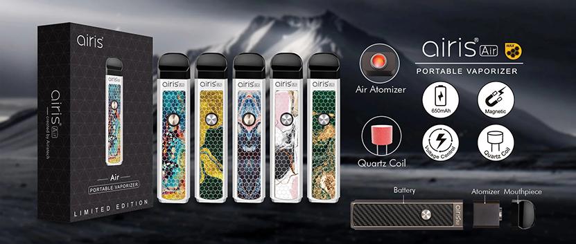 Airis Air Vaporizer Features