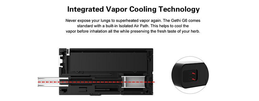 Airis Gethi G6 Vaporizer Feature 6