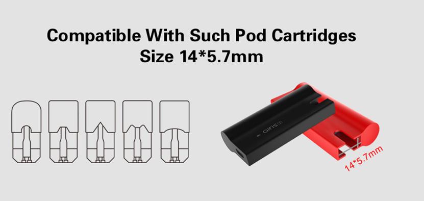 Airis J Vape Mod Cartridge