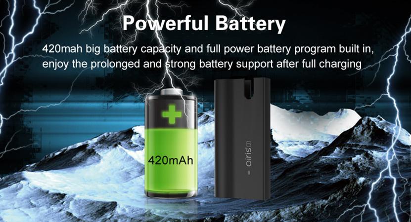Airis J Vape Mod battery