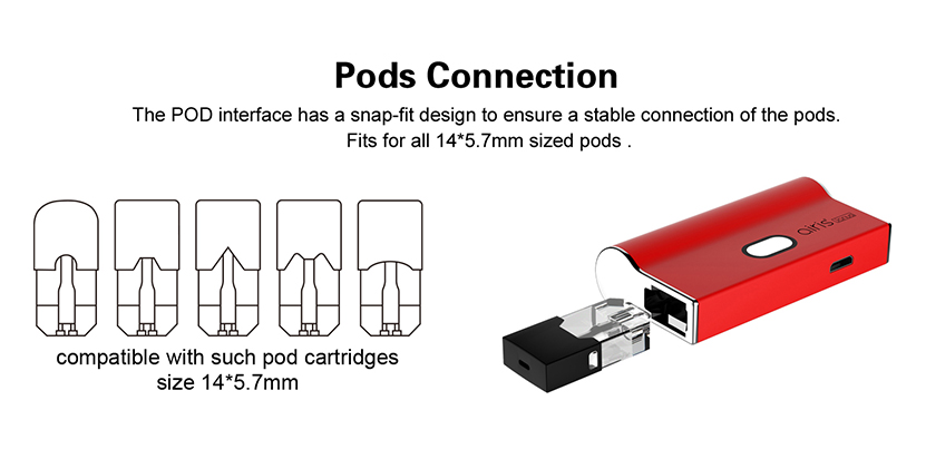 Airis Janus 2-in-1 Vaporizer Battery Connection