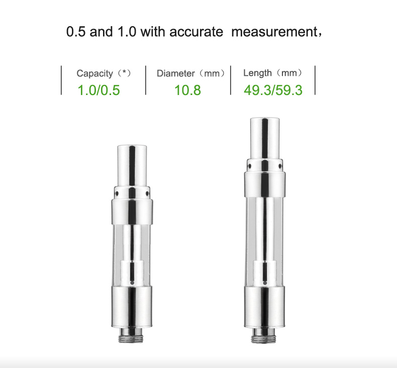 Airis Q-cell VE12 Vape Atomizer Size