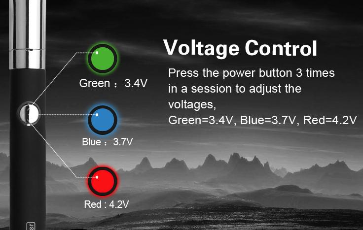 Quaser Vaporizer Kit Voltage Control