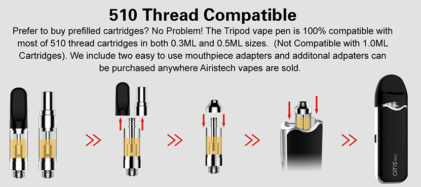 Tripod 3-in-1 Vape Kit