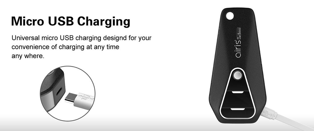 Airis Turboo Box Mod USB Charging