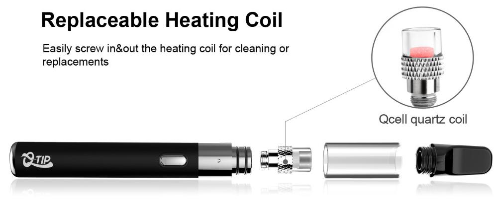 Airis Q-Tip Vaporizer Heating Coil