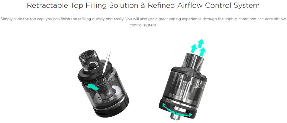 Amor NSE Atomizer Filling Airflow