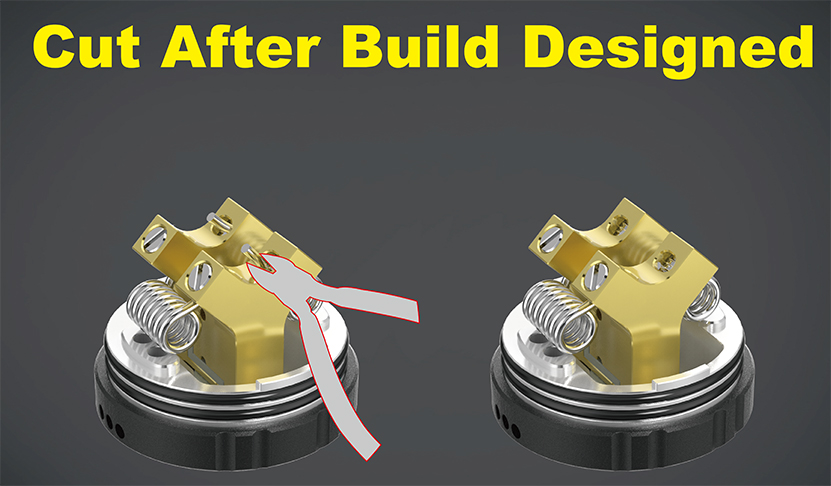 Apache RDA Atomizer Cut design