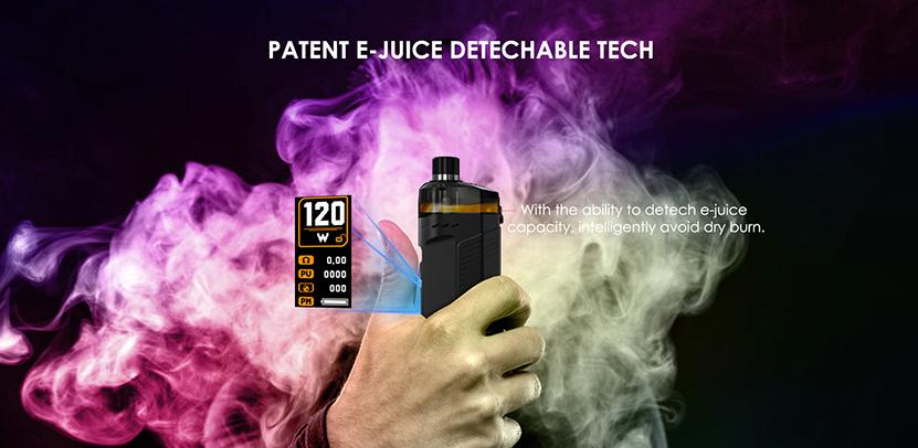 Cold Steel AIO Pod Mod Kit E-juice Detachable Tech