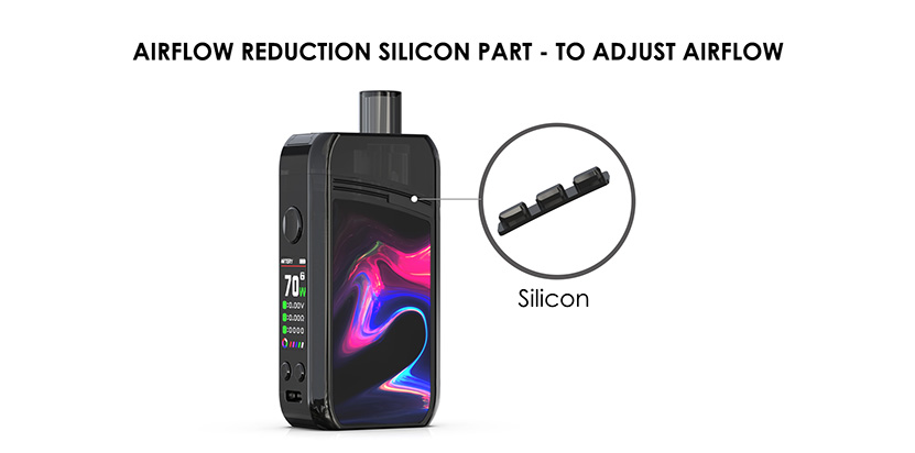 Artery Nugget + Pod Kit Airflow