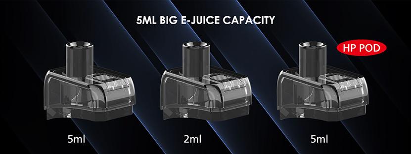 Artery Nugget + Mod Pod Kit Pod Capacity