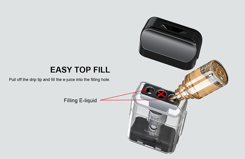 Artery PAL SE Pod System Vape Kit Filling