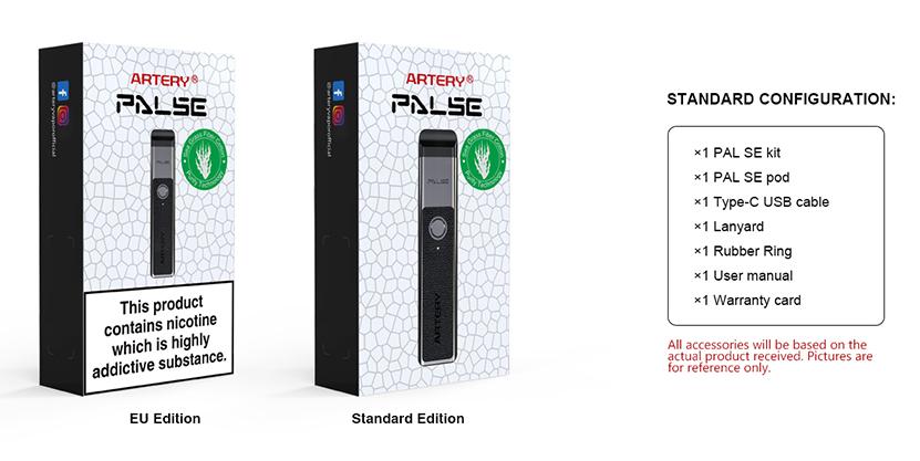PAL SE Pod System Kit Package