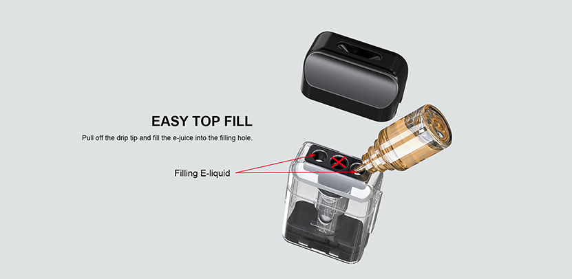 Artery PAL SE Pod Cartridge Easy top fill