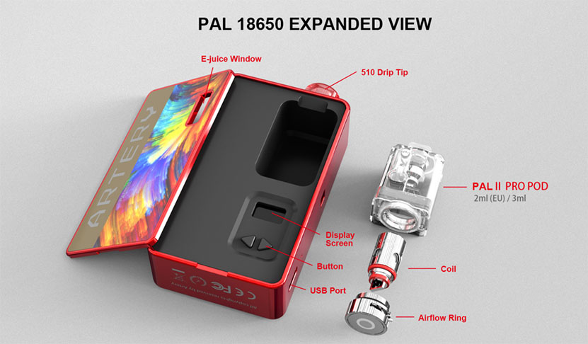 Artery Pal 18650 Kit Feature 6
