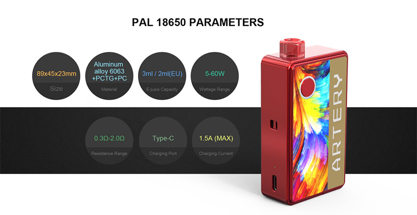Artery Pal 18650 Kit Feature 7