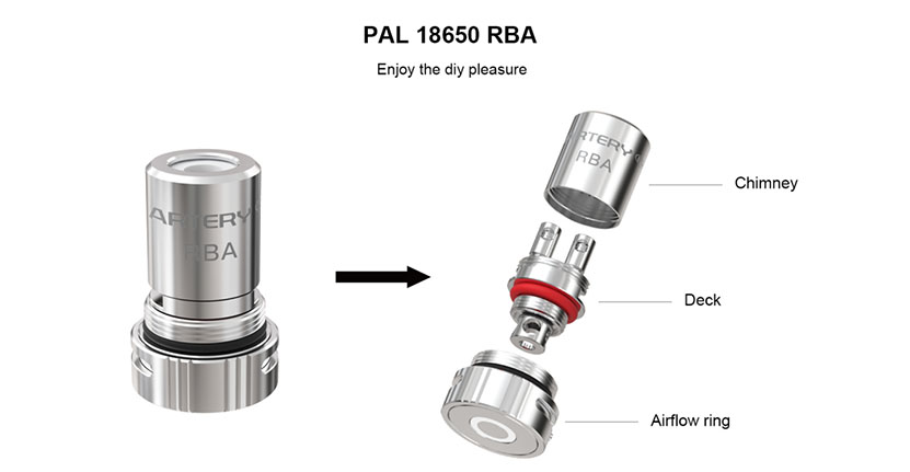 Artery Pal 18650 Kit Feature 9